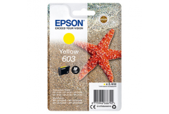 Epson 603 žlutá (yellow) originální cartridge