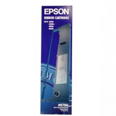 Epson 8766 / C13S015055, negru, ribon original