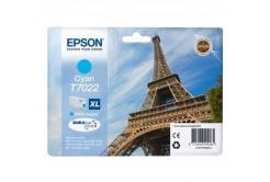 Epson T70224010 azurová (cyan) originální cartridge