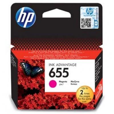 HP 655 CZ111AE purpurová (magenta) originální cartridge