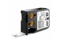 Dymo XTL 1868705, 21mm x 39mm, 150db, fekete nyomtatás / fehér alapon, eredeti szalag