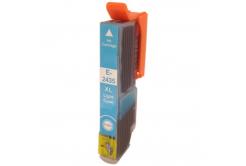 Epson T2435 XL světle azurová (light cyan) kompatibilní cartridge