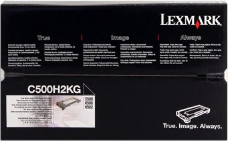 Lexmark C500H2KG black original toner