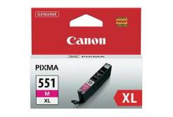 Canon CLI-551XLM purpurová (magenta) originální cartridge