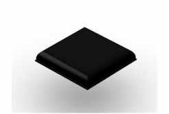 3M Bumpon SJ5705 černý, plato = 9 ks