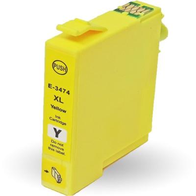 Epson T3474 žlutá (yellow) kompatibilní cartridge