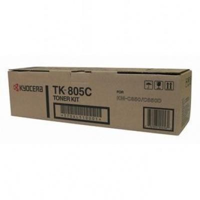 Kyocera Mita TK-805C azurový (cyan) originální toner