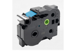 Kompatibilní páska s Brother TZ-FX263 / TZe-FX263, 36mm x 8m, flexi, modrý tisk / bílý pod