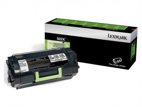 Lexmark 52D2X00 black original toner