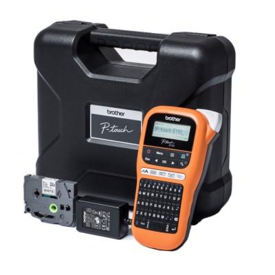 Brother PT-E110VP PTE110VPYJ1 s kufrem tiskárna štítků