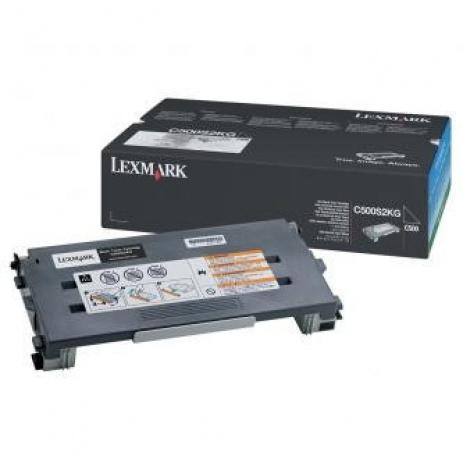 Lexmark C500S2KG fekete (black) eredeti toner