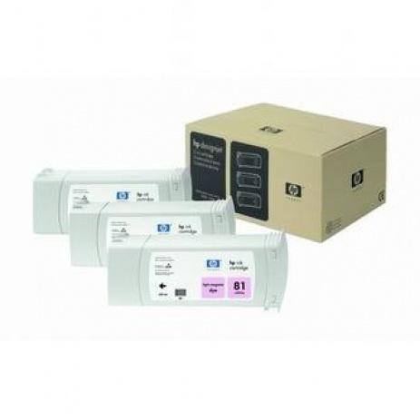 HP 81 C5071A világos bíborvörös (light magenta) eredeti tintapatron