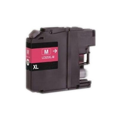 Brother LC-525XL purpurová (magenta) kompatibilní cartridge