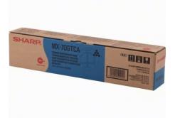 Sharp MX-70GTCA azurový (cyan) originální toner
