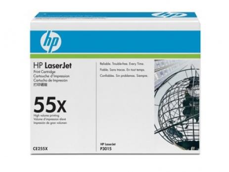 HP 55X CE255X negru toner original