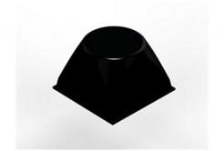 3M Bumpon SJ5514 černý, plato = 4 ks