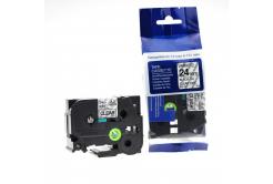 Kompatibilní páska s Brother TZ-151 / TZe-151, 24mm x 8m, černý tisk / průhledný podklad