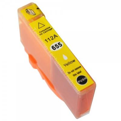 HP 655XL CZ112A žlutá (yellow) kompatibilní cartridge