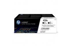 HP 410X CF410XD 2ks černý (black) originální toner
