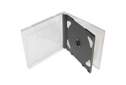 BOX na 2CD černý tray