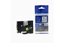 Kompatibilní páska s Brother TZ-S221/TZe-S221 9mm x 8m extr.adh. černý tisk/bílý podklad