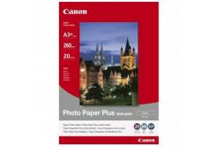 Canon 1686B032 Photo Paper Plus Semi-Glossy, foto papír, pololesklý, saténový, bílý, A3+, 260 g/m2, 20