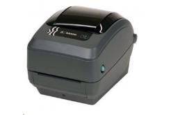 Zebra GX420T GX42-102422-000 TT tiskárna štítků, 203DPI, EPL2, ZPL II, USB, RS232, LAN, řezačka - LINER
