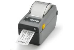 Zebra ZD410 ZD41023-D0E000EZ tiskárna štítků, 12 dots/mm (300 dpi), MS, RTC, EPLII, ZPLII, USB, BT (BLE), dark grey