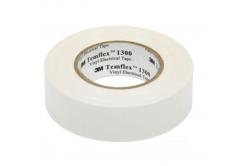 3M Temflex 1300 Elektroizolační páska, 19 mm x 20 m, bílá