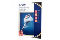 Epson S041927 Ultra Glossy Photo Paper, foto papír, lesklý, bílý, R200, R300, R800, RX425, RX500, 13x18