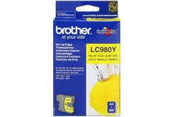 Brother LC-980Y žltá (yellow) originálna cartridge