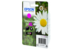 Epson originální ink C13T18134022, T181340, 18XL, magenta, 6, 6ml, Epson Expression Home XP-102, XP-402, XP-405, XP-302