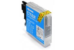 Brother LC-980/LC-1100 azúrová (cyan) kompatibilná cartridge