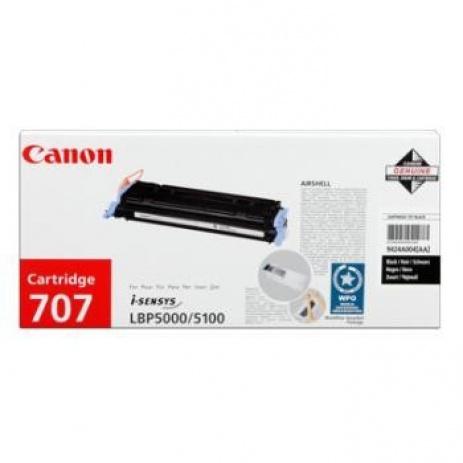 Canon CRG-707 fekete (black) eredeti toner
