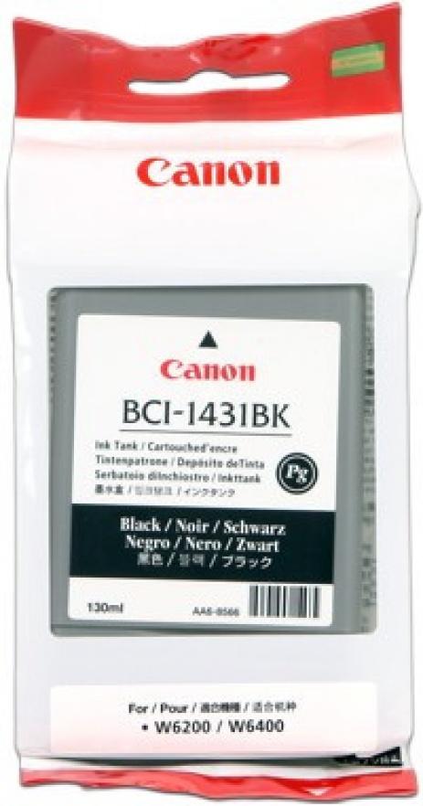 Canon BCI-1431BK black original ink cartridge