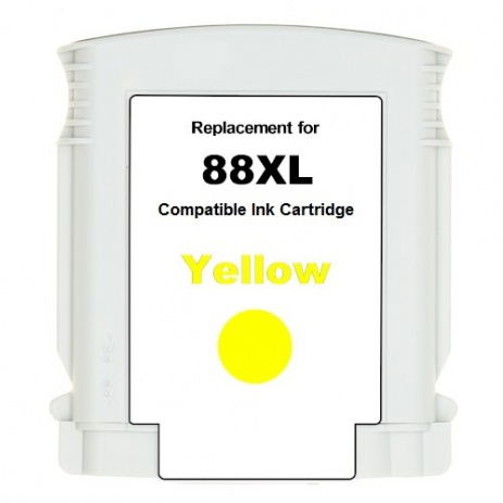 HP 88XL C9393A yellow compatible inkjet cartridge