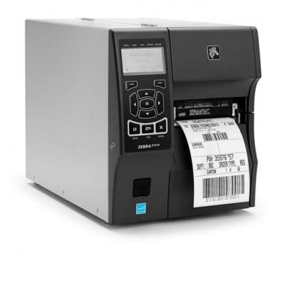 "Zebra ZT410 ZT41042-T3E0000Z, TT drukarka etykiet, 4"", 203 dpi, RS232, USB, Bluetooth, Peel w/ Liner Take-Up, EZPL"