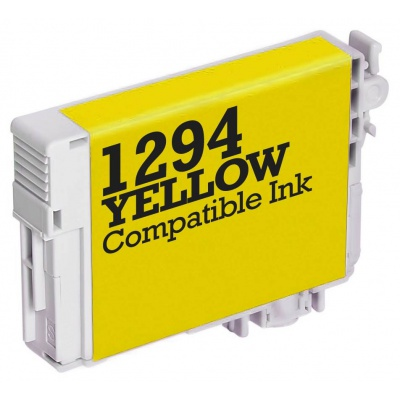 Epson T1294 žlutá (yellow) kompatibilní cartridge
