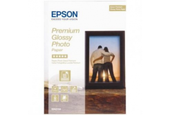 Epson S042154 Premium Glossy Photo Paper, fotópapírok, fényes, fehér, 13x18cm, 255 g/m2, 30 db