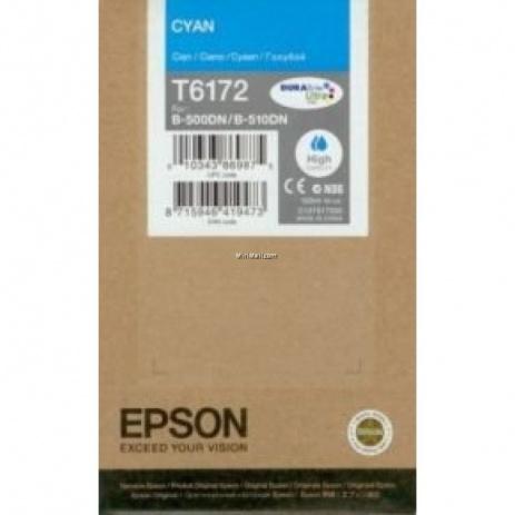 Epson T6172 cyan original ink cartridge