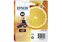 Epson T33614012, T33XL foto černá (photo black) originální cartridge