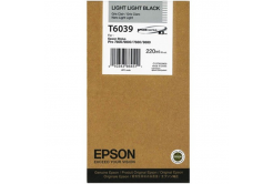 Epson T603900 světle světle černá (light light black) originální cartridge