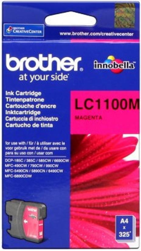 Brother LC-1100M bíborvörös (magenta) eredeti tintapatron