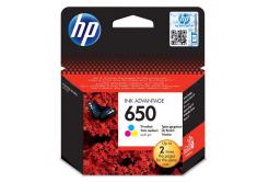 HP č.650 CZ102AE barevná originální cartridge