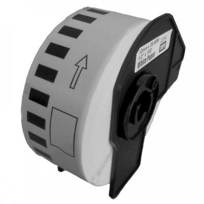 Brother DK-22214, 12mm x 30,48m, kompatibilní role etiket