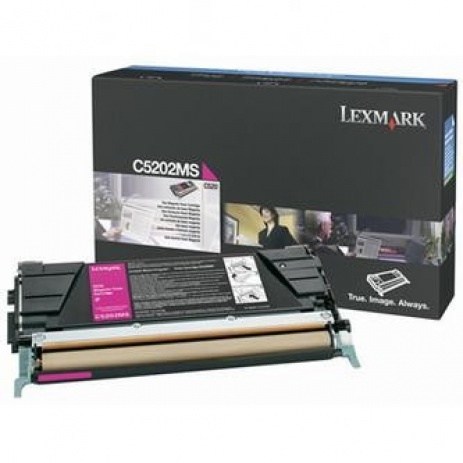 Lexmark C5202MS purpurowy (magenta) toner oryginalny