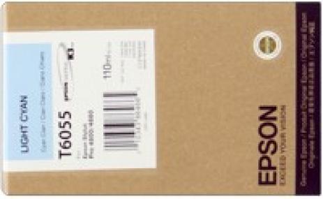 Epson C13T605500 világos cián (light cyan) eredeti tintapatron