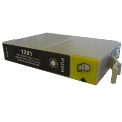 Epson T1281 černá (black) kompatibilní cartridge