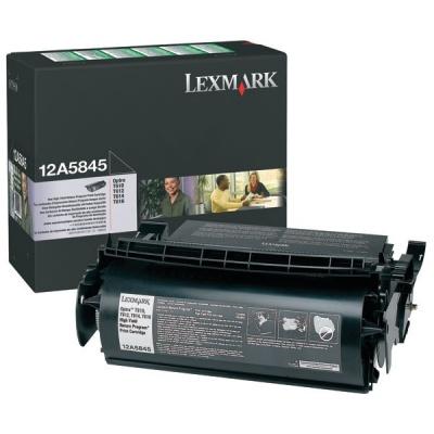 Lexmark 12A5845 černý (black) originální toner