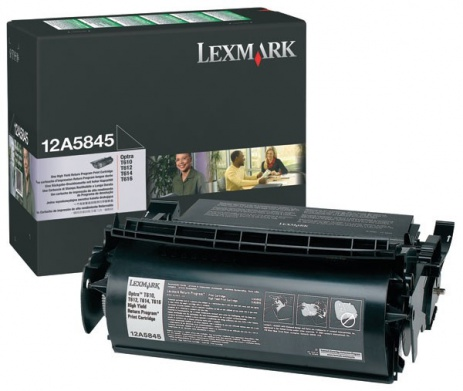 Lexmark 12A5845 negru (black) toner original